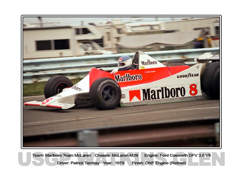 024 Tambay Marlboro McLaren 79