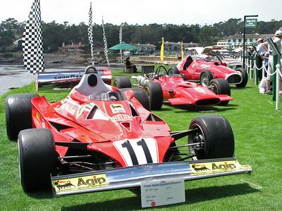 Formula One Ferraris Pebble Beach Concours D'elegance 2004