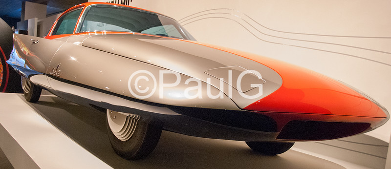 1955 Ghia Streamline X Gilda