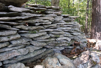 "Te-lay-nay's ""Wall"" is one of many Native American sites along the Natchez Trace."