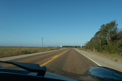 Following signs for US 82 across Arkansas.