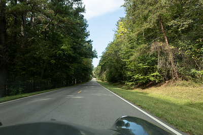 We spent much of the first day on the Natchez Trace Parkway.