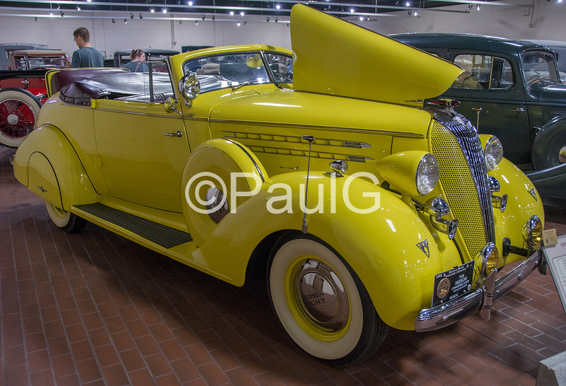 1936 Hudson Custom Eight Series 65 Convertible Coupe
