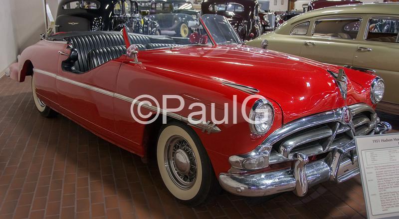 1951 Hudson Hornet Brougham Convertible Parade Car