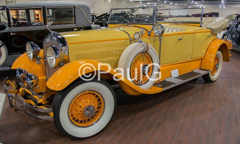 1929 Hudson Model L Dual Cowl 4Dr Sport Phaeton