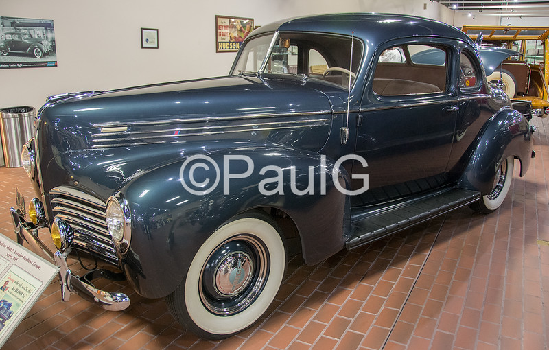 1940 Hudson Traveler Business Coupe Series 40T