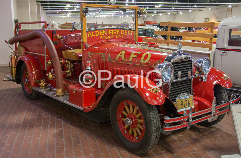 1927 Hudson Fire Engine