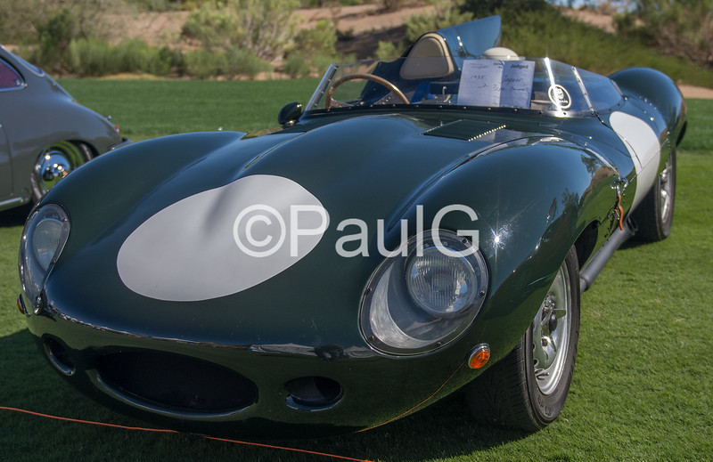 1955 Jaguar D-Type Recreation