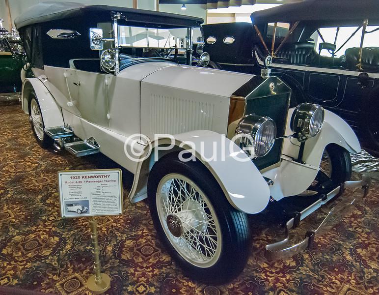 1920 Kenworthy Model 4-80 7-Passenger Touring