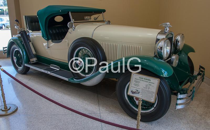 1929 Kissel Model 8-126 White Eagle Speedster