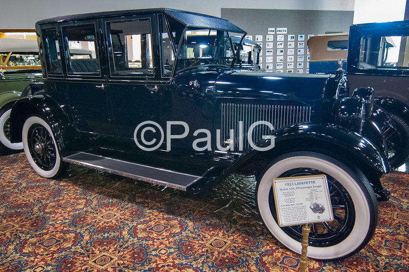 1923 Lafayette Model 134 4-Passenger Coupe