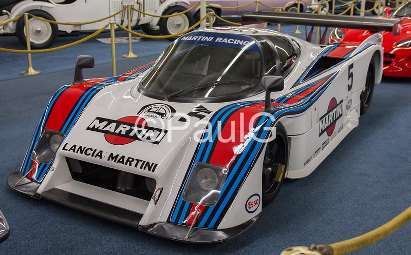 1983 Lancia LC-2 Martini Race Car