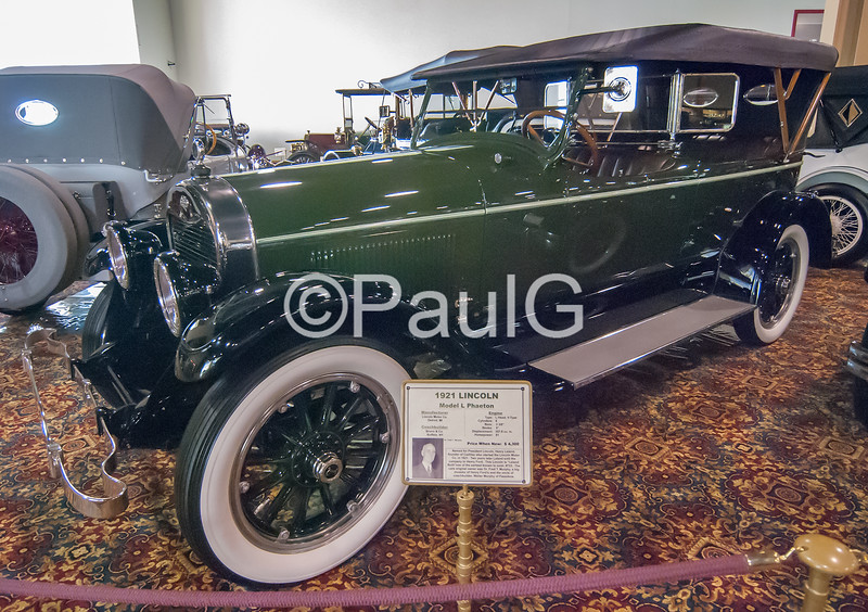 1921 Lincoln Model L Phaeton