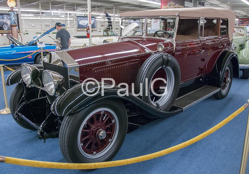 1925 Locomobile Model 48 Derham Custom Convertible Sedan