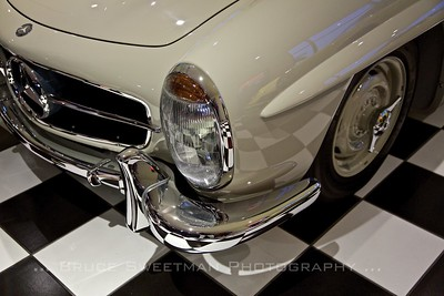 Mercedes 300SL - the other German sports car - at European Collectibles.
