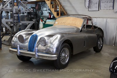 1955 Jaguar XK 140 Drophead at Steve Hogue Enterprises.
