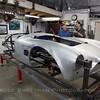 1963 Shelby Cobra 289 #1 at Steve Hogue Enterprises. Steve Hogue on right.
