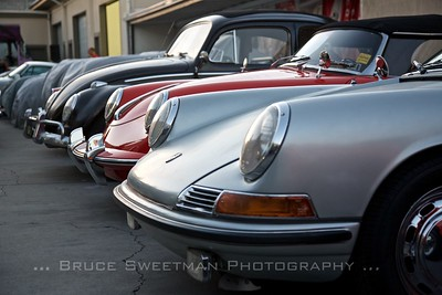 Three generations of Porsche design at European Collectibles.