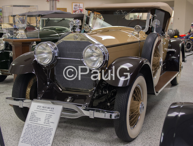1925 McFarlan Twin Valve Six Roadster