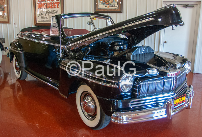 1946 Mercury Series 69M 2-Door Convertible