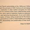 PETER W. MULLIN'S MISSION STATEMENT