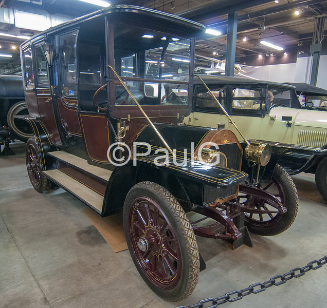 1907 Nyberg Model 35 Touring Limousine