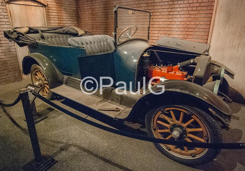 1916 Overland Touring