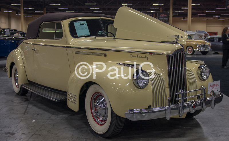 1941 Packard 120 Model 1901 Convertible Coupe