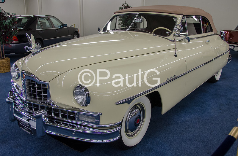 1949 Packard Super Eight Deluxe Convertible Victoria
