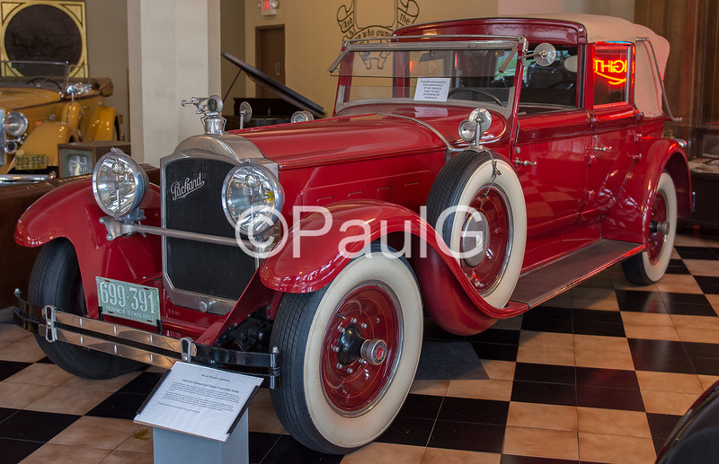 1928 Packard Eight Model 443 Hibbard and Darrin Convertible Sedann