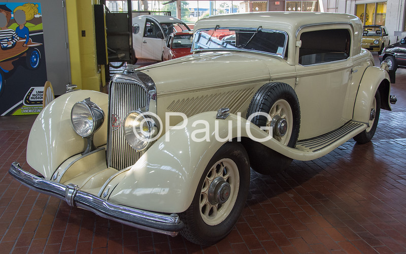 1933 Panhard Levassor 6 DS RL