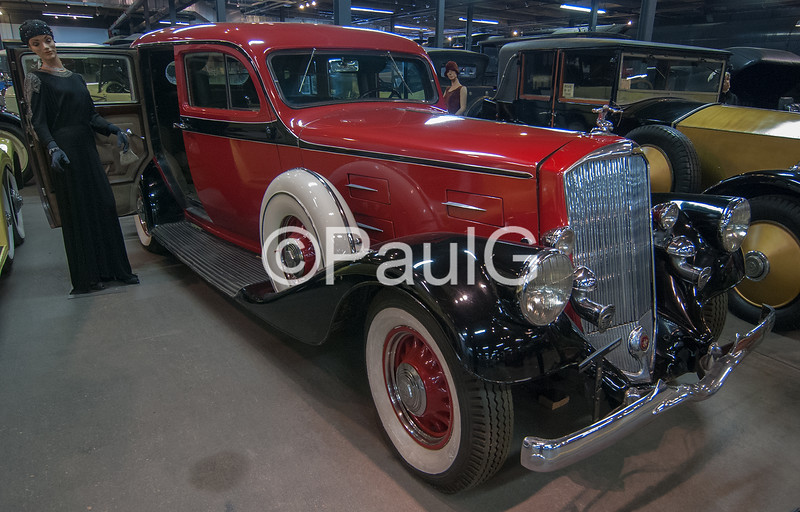 1934 Pierce-Arrow Enclosed Drive Limousine
