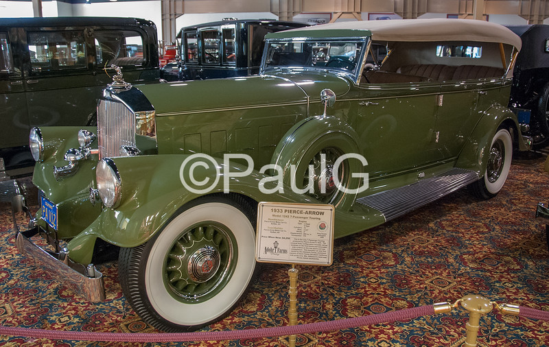 1933 Pierce-Arrow Model 1242 Touring