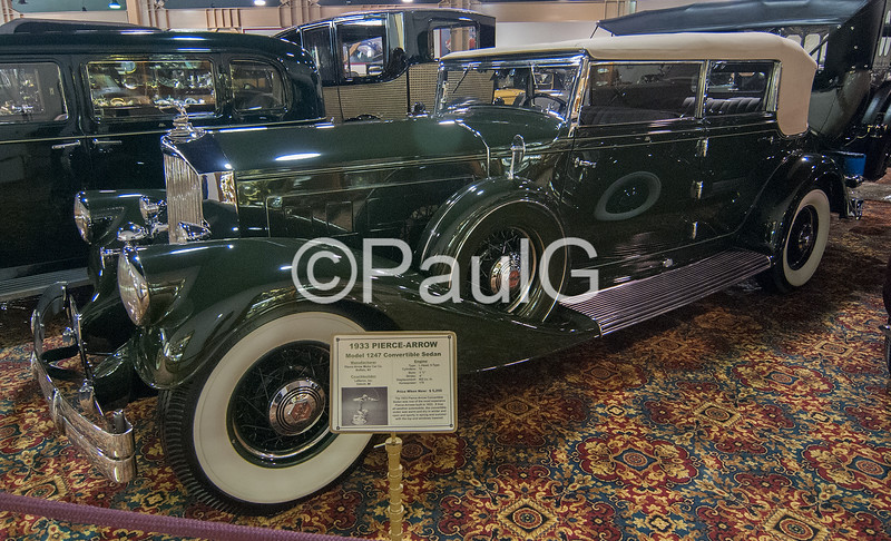 1933 Pierce-Arrow Model 1247 Convertible Sedan