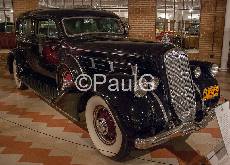 1936 Pierce-Arrow Model 1602 Enclosed Drive Limousine