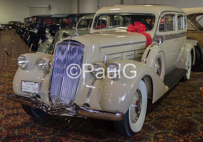 1936 Pierce-Arrow Model 1603 Enclosed Drive Limousine