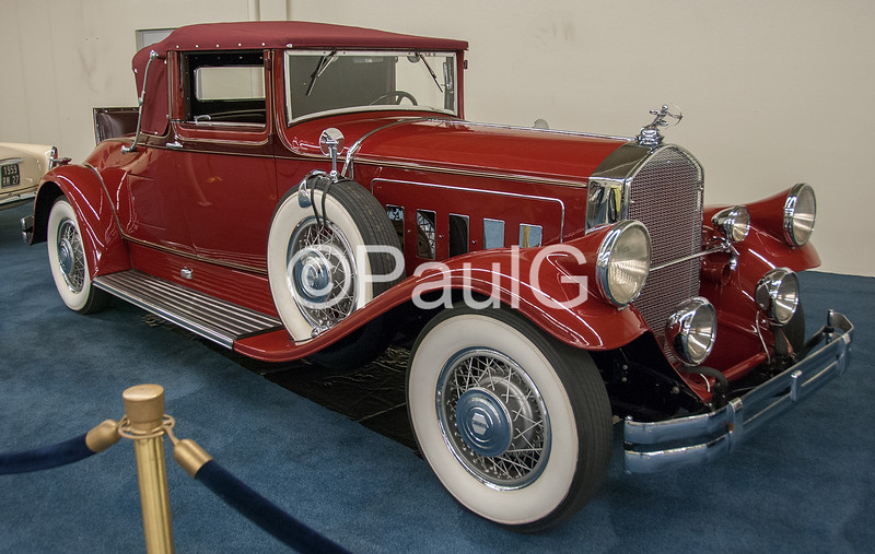 1930 Pierce-Arrow Model A Convertible Coupe
