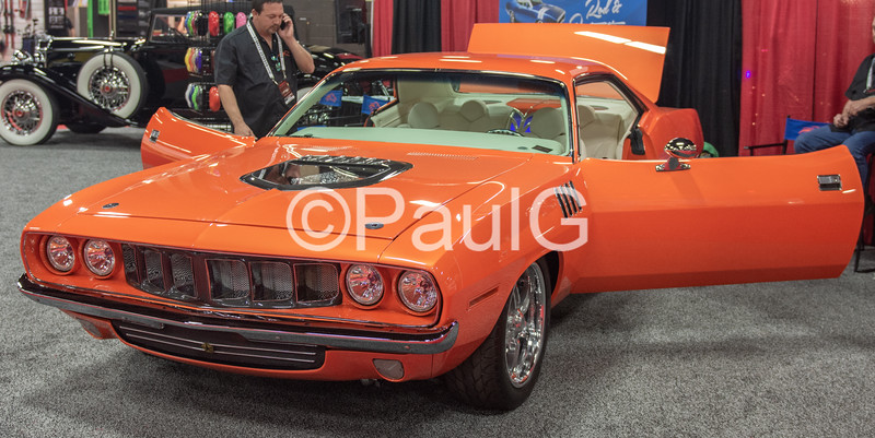 1971 Plymouth Barracuda 2-Door Hardtop Coupe