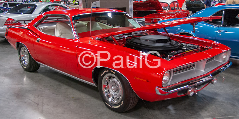 1970 Plymouth Cuda 2-Door Hardtop Coupe