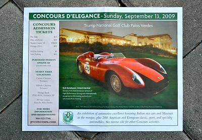 Palos Verdes Concours 'D' Elegance Sept. 2009