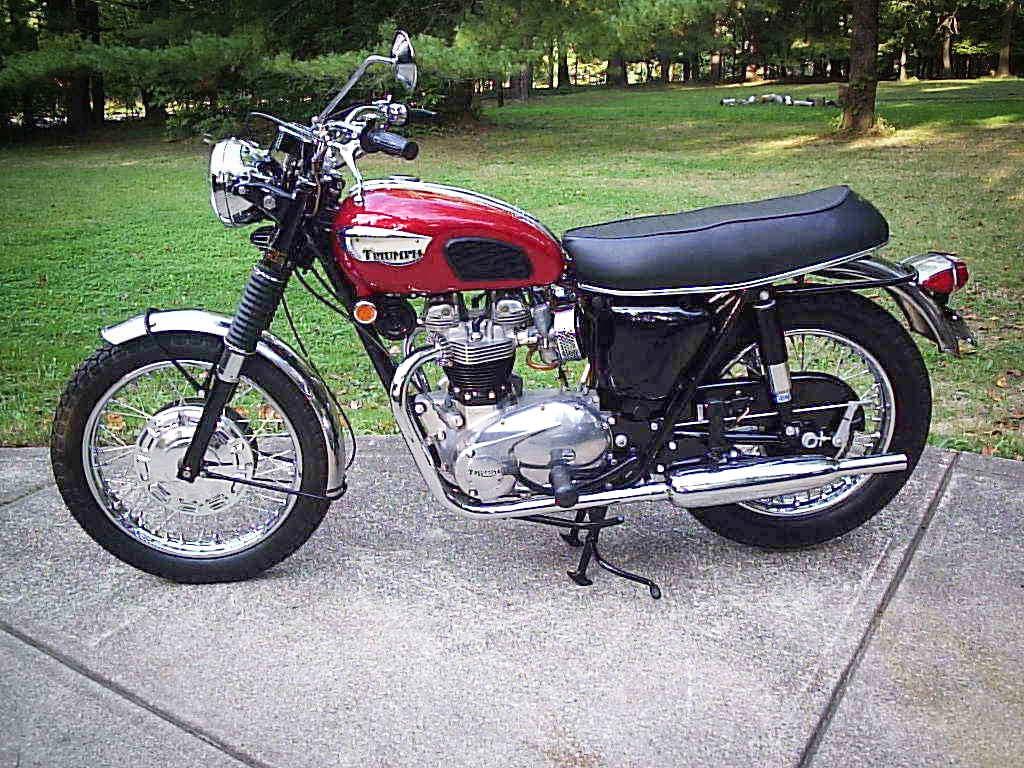 1968 Triumph Bonneville T120R