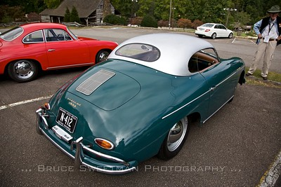 1958 356A Speedster with Custom Aluminum Top Don Folwer Fjord Green