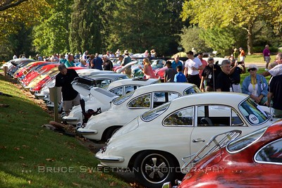 356C Coupes were t he most numerous entries.