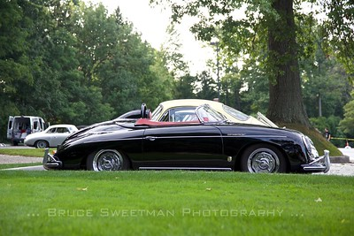 Tom Tate's sleek, loud, and fast 1958 356 Speedster.