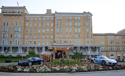 French Lick Resort main entrance.