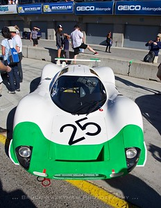1969	Porsche 908 LH Revs Institute Driver:	Gunnar Jeannette	  Saturday Concours