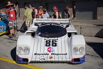 1985 Porsche 962 at the concours.