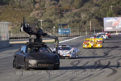 Porsche makes the most of video opportunities with it's high-tech camera car.