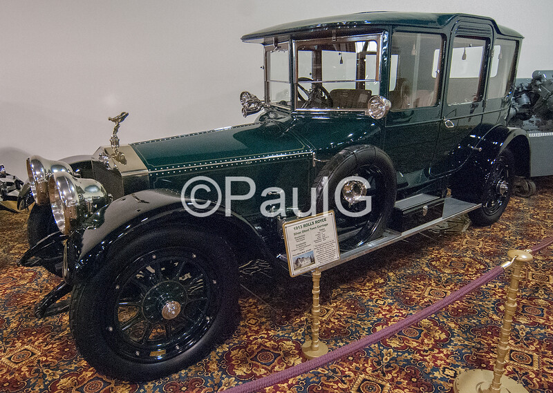 1913 Rolls-Royce Silver Ghost Town Carriage