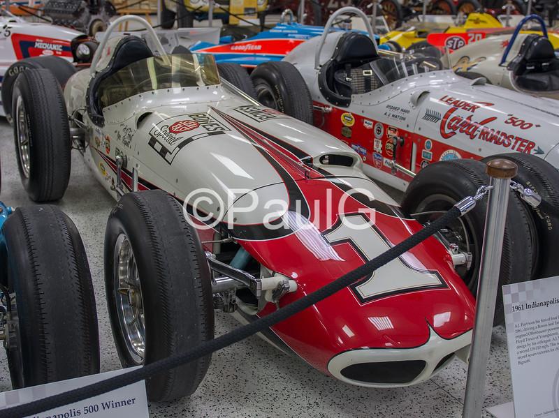 1961 Indianapolis 500 Winner - Trevis